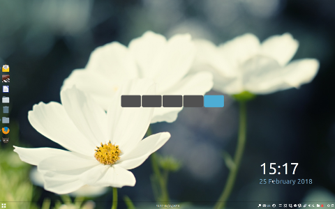 Workspace Switcher widget