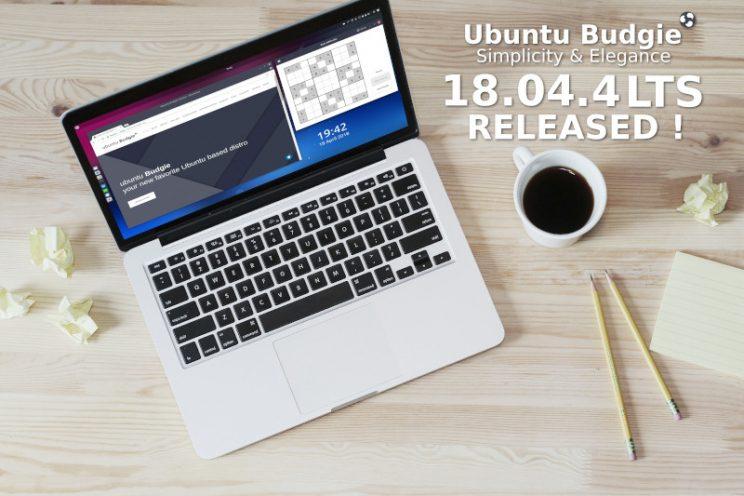 Ubuntu Budgie 18.04.4 Small